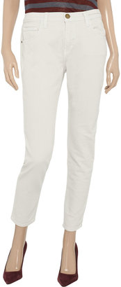 Current/Elliott The Slouchy Stiletto mid-rise slim-leg jeans