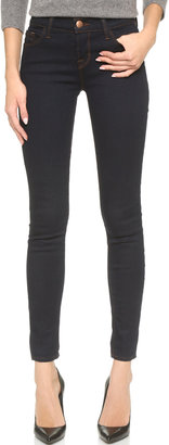 J Brand 811 Mid Rise Skinny Jeans $158 thestylecure.com