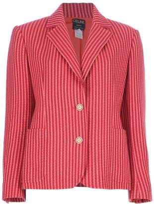 Celine Vintage striped blazer