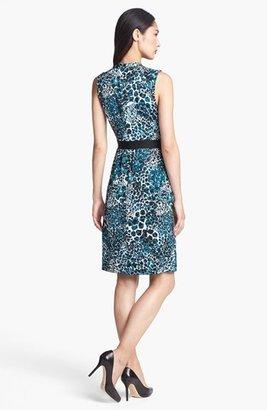 Classiques Entier Sleeveless Stretch Silk Dress