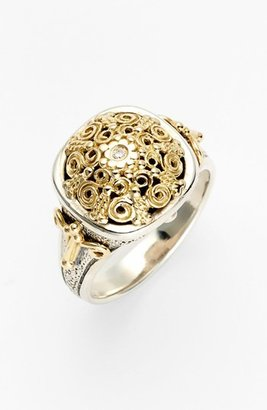 Women's Konstantino 'Classics' Two-Tone Diamond Ring $650 thestylecure.com
