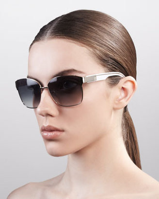 Givenchy Squared Metal Sunglasses