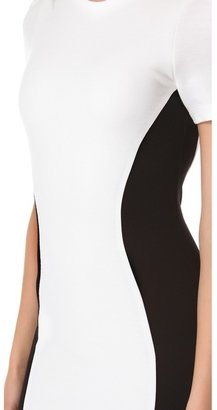 Torn By Ronny Kobo Shiran Short Dress