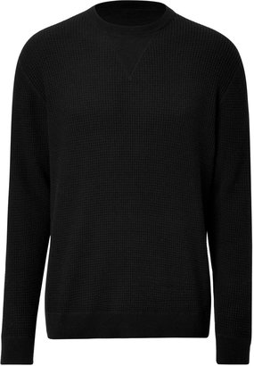 Marc by Marc Jacobs Cotton-Cashmere Pullover in Black