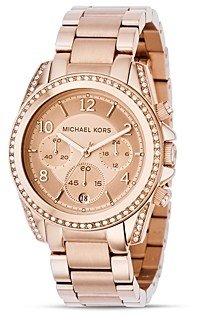 Michael Kors Rose GoldTone Watch, 39mm