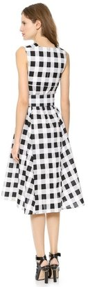 Derek Lam Full Skirt Dress with Belt