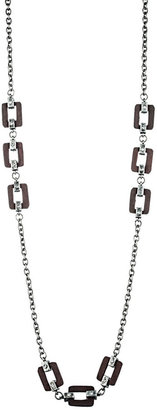 Danielle Stevens Jewelry Link Necklace in Silver