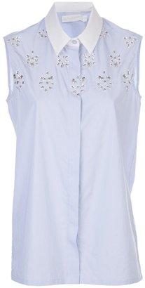 Altuzarra Bejeweled front blouse