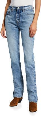 Frame Le Drew Straight-Leg Jeans