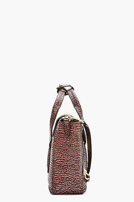 3.1 Phillip Lim Pink Textured Leather Mini Pashli Satchel