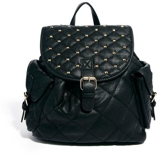 Aldo Crozier Pin Stud And Chain Strap Backpack