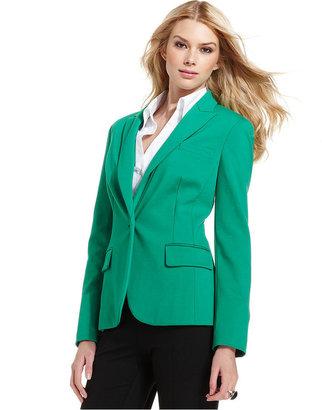 INC International Concepts Jacket, Single-Button Blazer