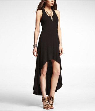 Express Hi-Lo Hem Knit Maxi Dress