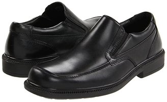 Hush Puppies Leverage (Black Leather) Men's Shoes