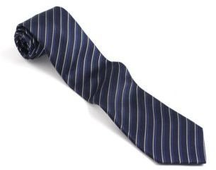 John Varvatos U.S.A. Classic FIt Diagonal Striped Silk Tie