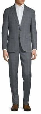 Ted Baker No Ordinary Joe 2-Piece Wool Check Suit