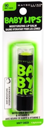 Maybelline Baby Lips Electro Lip Balm Minty Sheer