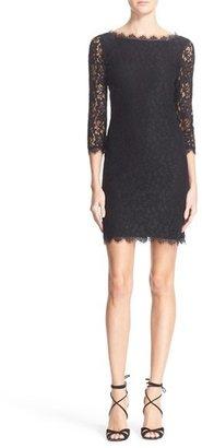 Diane von Furstenberg 'Zarita' Lace Sheath Dress $348 thestylecure.com