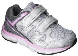C9 Champion Toddler Girl's C9 by Champion® Impact Athletic Shoes - Gray/Pink