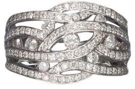 EFFY COLLECTION 14K White Gold Diamond Ring, .47 CTW