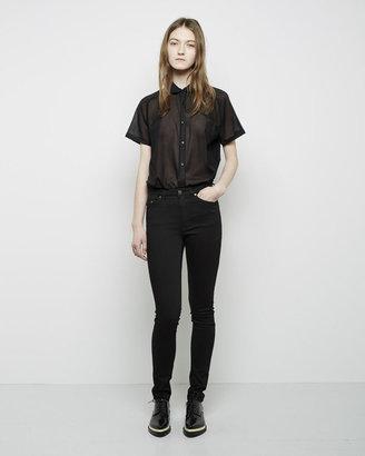 Acne Studios Pin 5 Black Jean $220 thestylecure.com