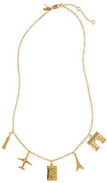 J.Crew Girls' vacation charm necklace