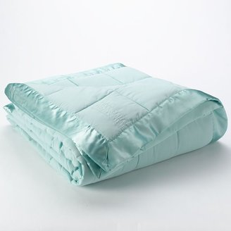 Laura Ashley lifestyles solid down-alternative blanket - full/queen