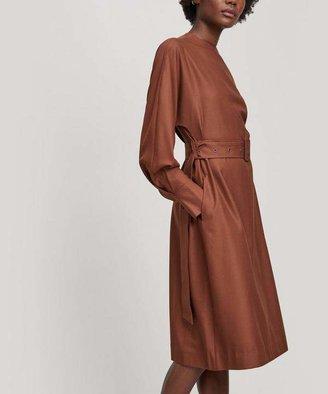 Low Classic Long-Sleeve Wool Belt Dress