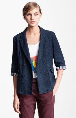 Marni Edition Double Breasted Denim Jacket