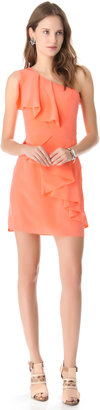 Shoshanna Sadie One Shoulder Dress