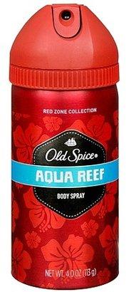 Old Spice Red Zone Deodorant Body Spray Aqua Reef
