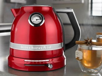 KitchenAid 1.6-qt. Pro Line Electric Kettle, Candy Apple Red