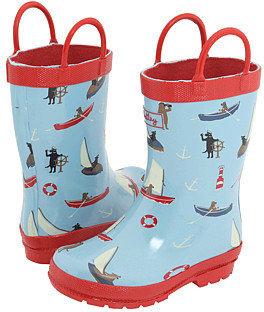 Hatley Kids - Rain Boots (Infant/Toddler) (Aliens)