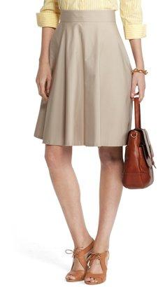 Brooks Brothers Cotton Poplin Skirt