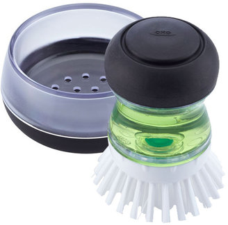 Container Store OXO Good Grips Palm Brush Set
