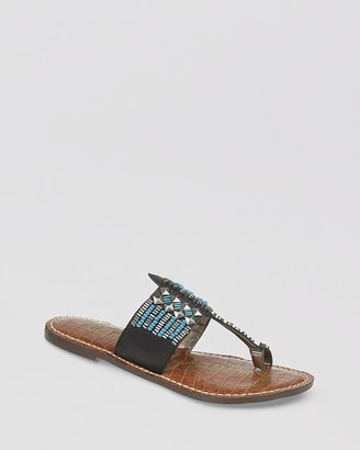 Sam Edelman Flat Sandals - Gideon Toe Ring