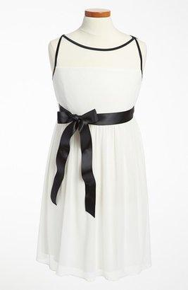 Ruby Rox Roxette Illusion Yoke Dress (Big Girls)