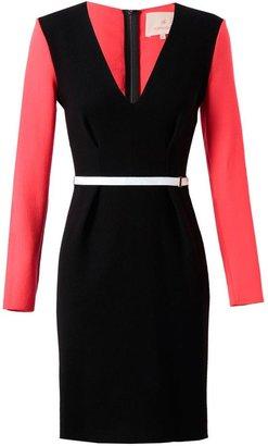 Roksanda Crepe Wool Dress with Belt