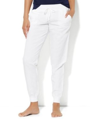 New York & Co. Love, NY&C Collection - Linen Banded-Hem Pant