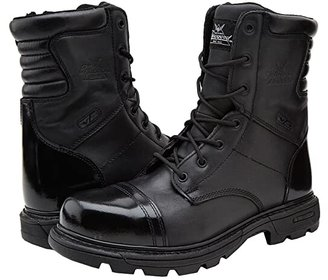 Thorogood 8 Inch Side Zipper Work Boot (Black) Men's Work Boots