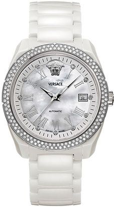 Versace Diamond Ceramic Bracelet Watch