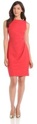 Anne Klein Women's Matte Ponte Dress