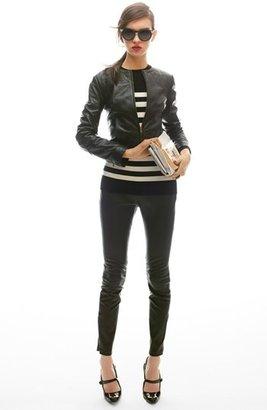Nordstrom Miss Wu Leather Leggings Exclusive)