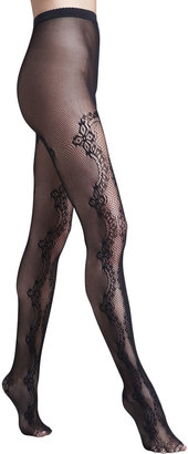 Wolford Valencienne Lace Tights