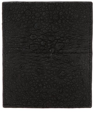 Rick Owens toad leather wallet