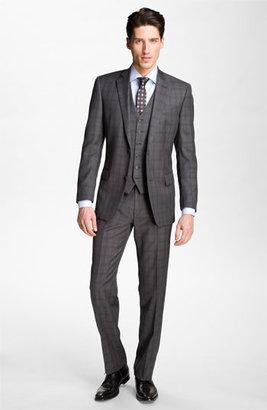 John Varvatos Woven Silk Tie