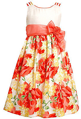 Bonnie Jean 7-16 & Plus Size Floral Dress