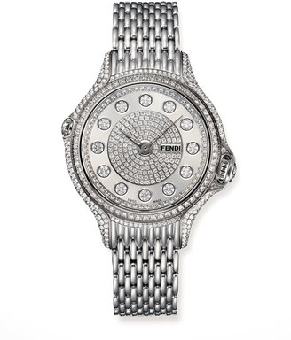 Fendi Timepieces Crazy Carats Precious Pave Diamond Watch
