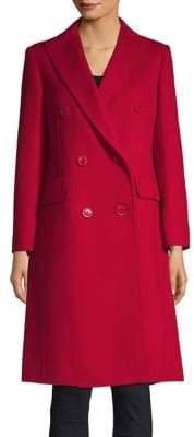 Max Mara Lillo Double-Breasted Wool Coat