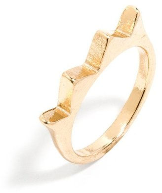 BaubleBar Crown Midi Ring